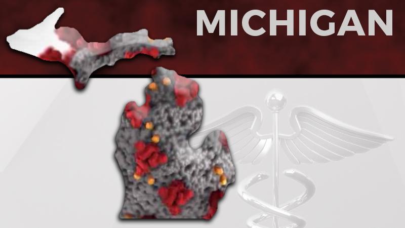 Michigan reports 8,496 New Coronavirus cases